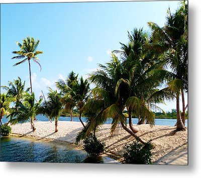 Metal Print featuring the photograph Isle @ Camana Bay by Amar Sheow