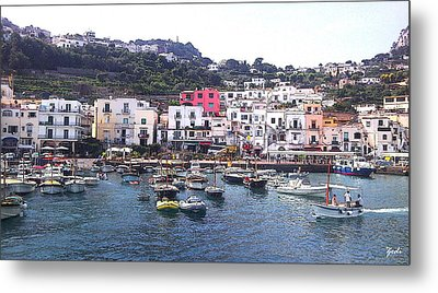Isle Of Capri Metal Print by Ze  Di