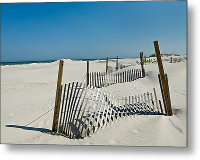 Isolated Dunes Metal Print by Denis Lemay
