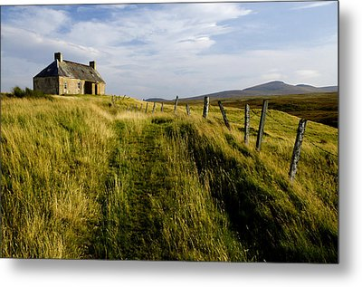 Isolation 2 The Northern Highlands Scotland Metal Print by Sally Ross