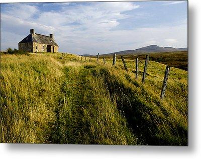 Isolation 2 The Northern Highlands Scotland Metal Print