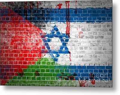 Israeli Occupation Metal Print
