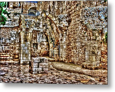 Metal Print featuring the photograph Israels Ruins by Doc Braham