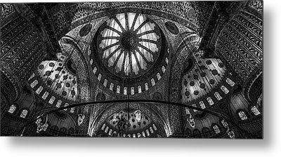 Istanbul - Blue Mosque Metal Print