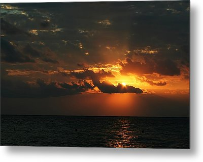 It Burns Metal Print by Laurie Search