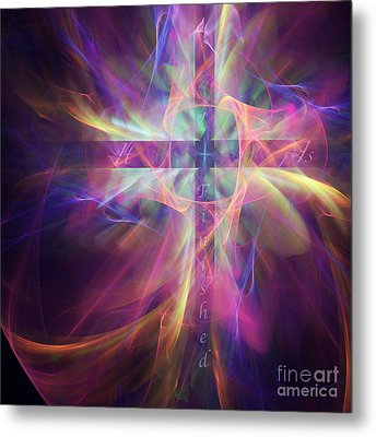 It Is Finished Metal Print by Margie Chapman