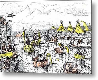 It Is Quite A Mistake To Suppose That Henley Regatta Metal Print