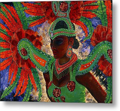 It Looks Like Mardi Gras Time Metal Print
