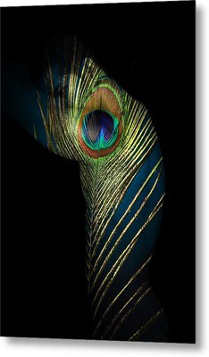 It Not The Time To Leave Metal Print by Mark Ashkenazi