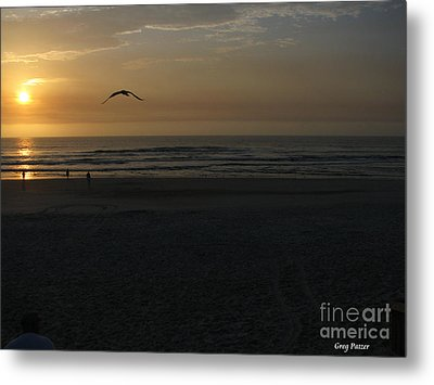 Metal Print featuring the photograph It Starts by Greg Patzer
