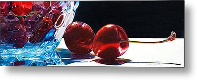It Takes Two Metal Print by Arlene Steinberg
