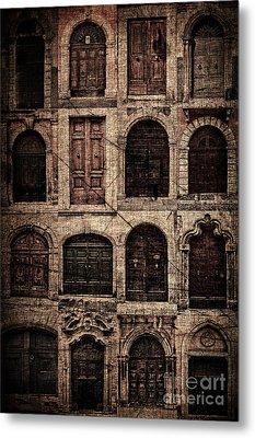 Italian Doors. Metal Print by Juan Nel