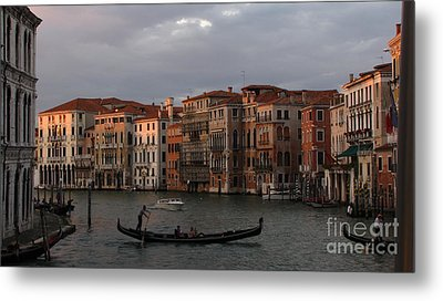 Italian Evening Metal Print by Jennifer Wheatley Wolf