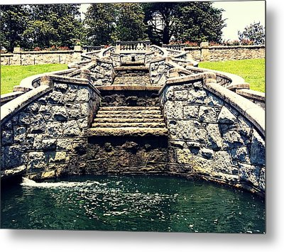 Italian Garden Architect  Metal Print by Kiara Reynolds