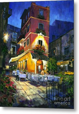 Italian Nights Metal Print