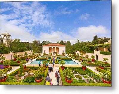 Italian Renaissance Garden Hamilton Gardens New Zealand Metal Print by Colin and Linda McKie