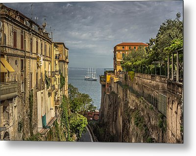Italian Shipping Route Metal Print by Chris Fletcher