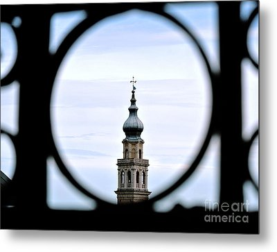 Italian Steeple Metal Print by Sarah Christian