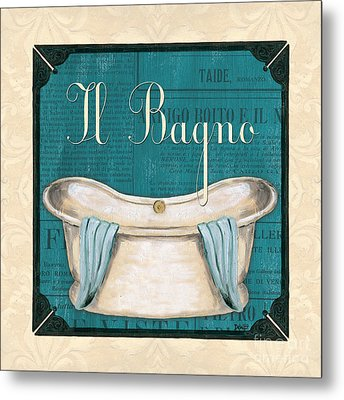 Italianate Bath Metal Print by Debbie DeWitt