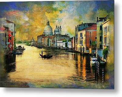 Italy 01 Metal Print by Catf