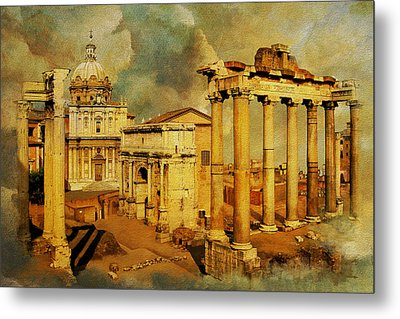 Italy 05 Metal Print by Catf