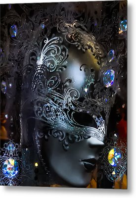 Italy - Behind The Mask Metal Print