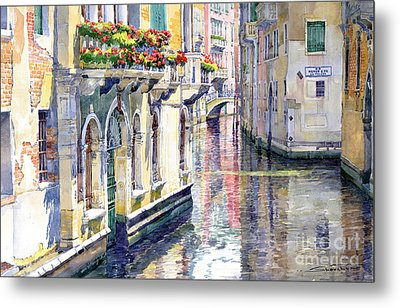 Italy Venice Midday Metal Print