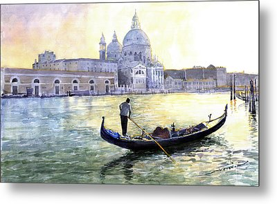 Italy Venice Morning Metal Print by Yuriy Shevchuk