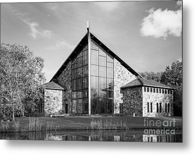 Ithaca College Muller Chapel Metal Print by University Icons
