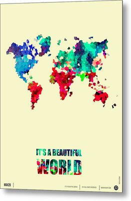 It's A Beautifull World Poster 2 Metal Print