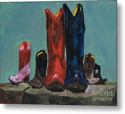 It's A Family Tradition Metal Print by Frances Marino