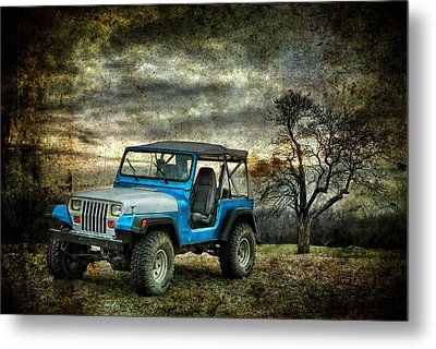 Metal Print featuring the photograph It's A Jeep Thing by Sami Martin
