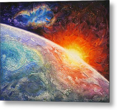It's A New Day Metal Print by Susan Card
