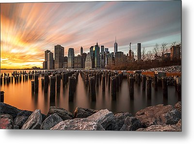 Metal Print featuring the photograph Its A New Year  by Anthony Fields