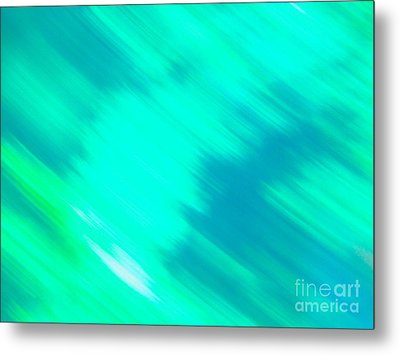 It's All A Blur  Metal Print by Sarah Mullin