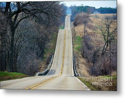 It's All About The Journey  Metal Print