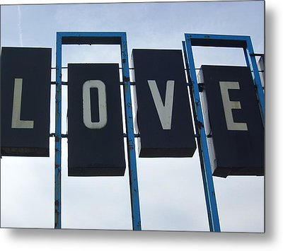 It's All You Need Metal Print by Guy Ricketts