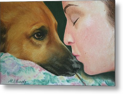 It's Alright Metal Print by Marna Edwards Flavell