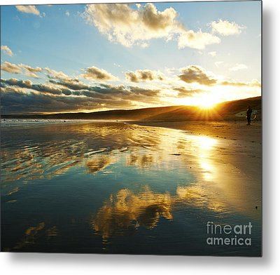It's Late In The Day Metal Print by Nicole Doyle