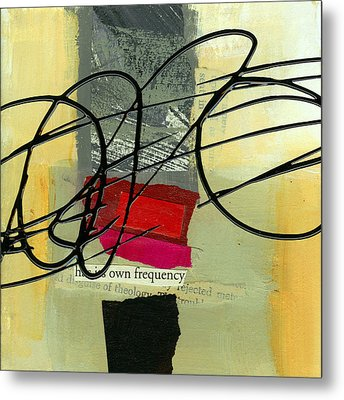 Its Own Frequency Metal Print by Jane Davies