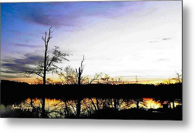 Metal Print featuring the photograph It's Twilight Time by Sadie Reneau