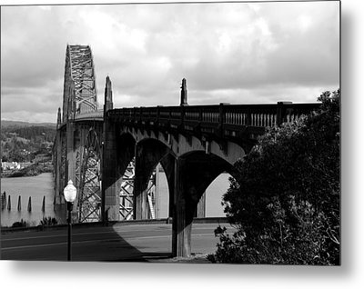 It's Water Under The Bridge  Metal Print by Sheldon Blackwell