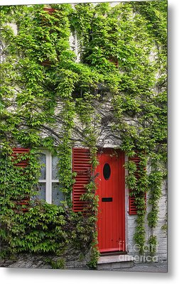 Ivy Cottage Metal Print by Ann Horn