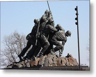 Iwo Jima Memorial - 12123 Metal Print