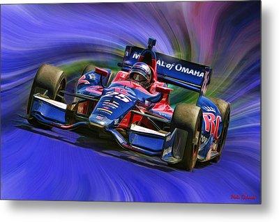Izod Indycar Series Marco Andretti  Metal Print by Blake Richards