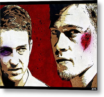 Jack And Tyler Metal Print