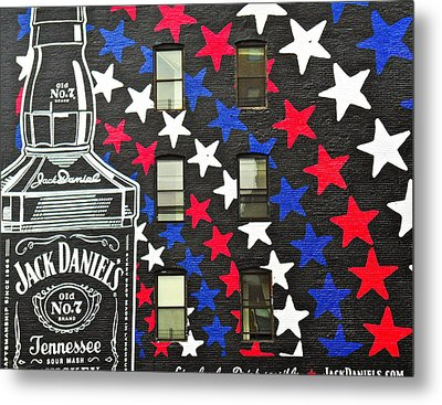 Metal Print featuring the photograph Jack Daniel's Wall Art by Joan Reese