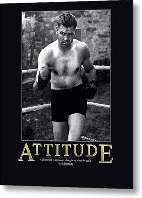 Jack Dempsey Attitude Metal Print by Retro Images Archive