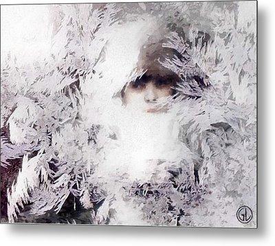 Jack Frost Nipples Your Nose Metal Print by Gun Legler