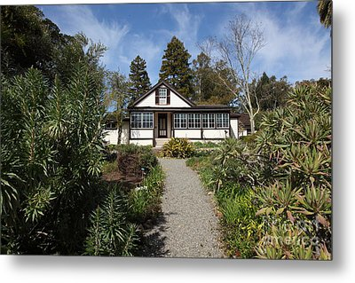 Jack London Cottage 5d22120 Metal Print by Wingsdomain Art and Photography